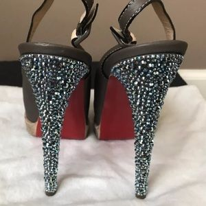 CHRISTIAN LOUBOUTIN 💯% authentic strassed heels